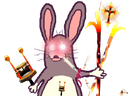 :Lapin_red: