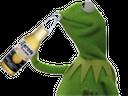 :Kermit_alcool: